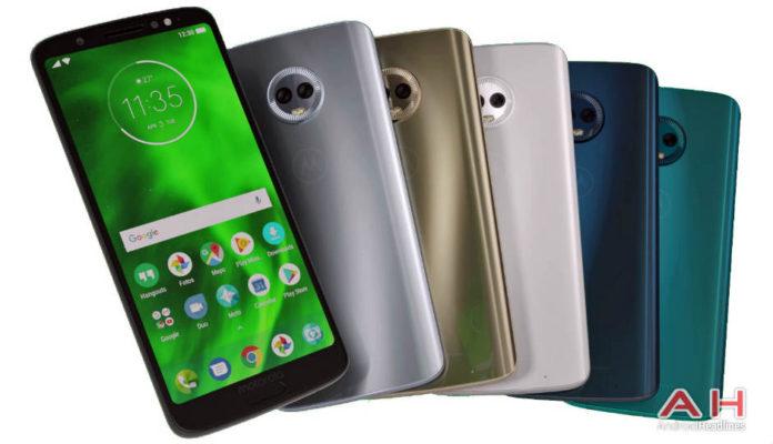 Moto G6, Moto G6 Play and Moto G6 Plus