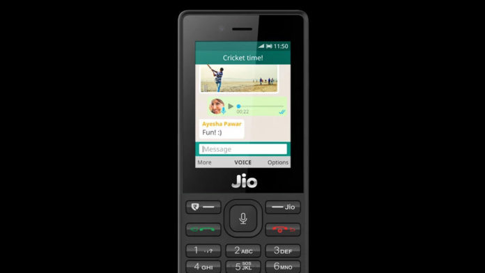 whatsapp on jiophone and jiophone 2