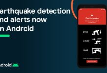 google earthquake detection tool